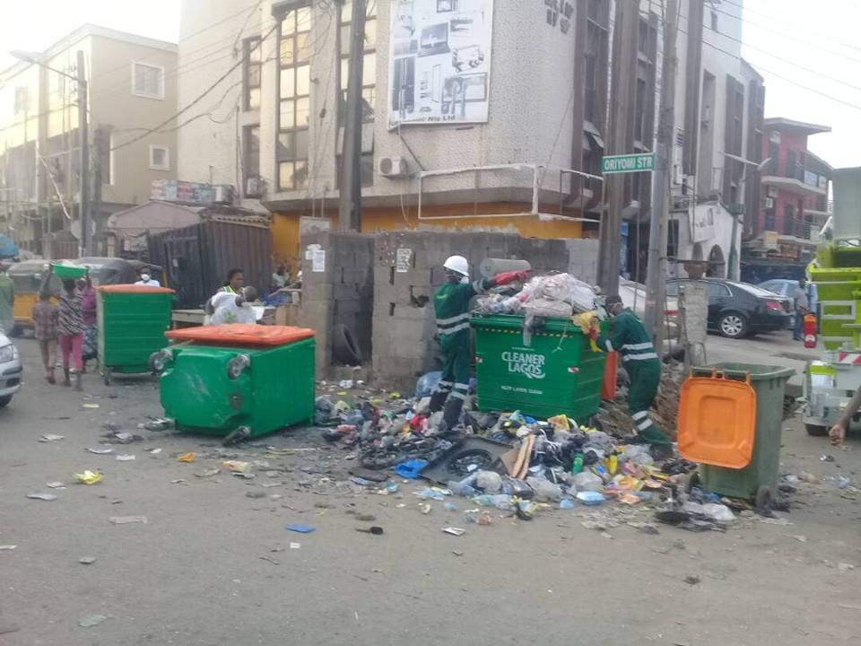 Failure of 'Cleaner Lagos Initiative', By Banjo Oluwatobiloba