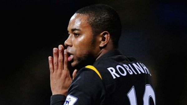 •Convicted soccer star Robinho