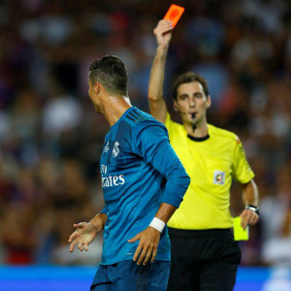 Ronaldo hit with five-match ban for pushing referee