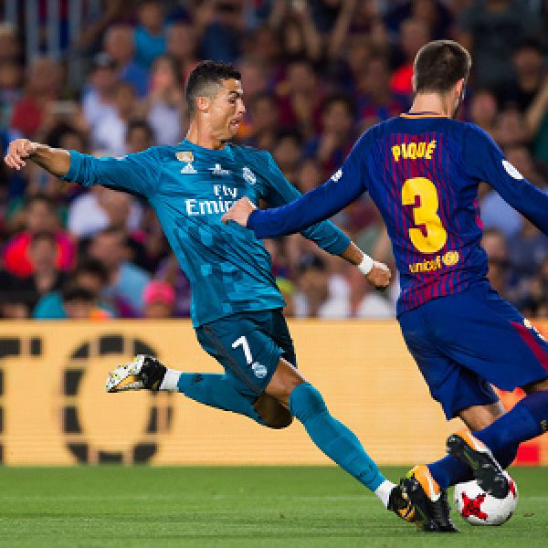 10-man Real Madrid tame Barca in Spanish Super Cup •How Ronaldo saw red