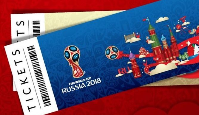•Russia 2018 tickets