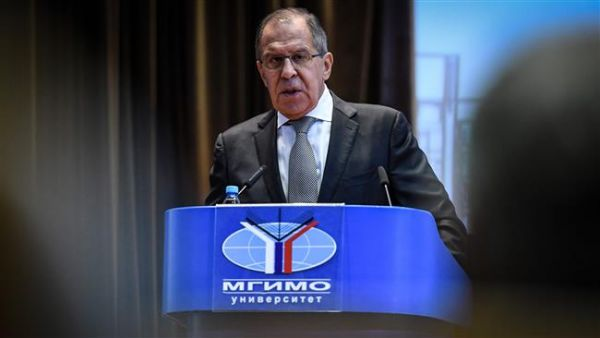 •Russian Foreign Minister Sergei Lavrov