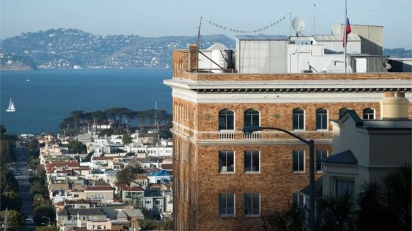 •Russian Consulate in San Francisco, USA