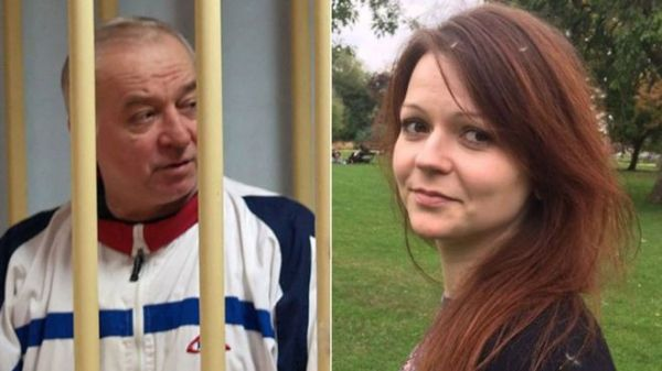 •Sergei Skripal, 66, and his daughter Yulia, 33, both in critical condition in hospital