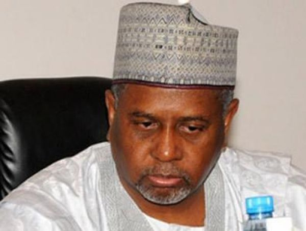 •Detained Ex-NSA Sambo Dasuki.