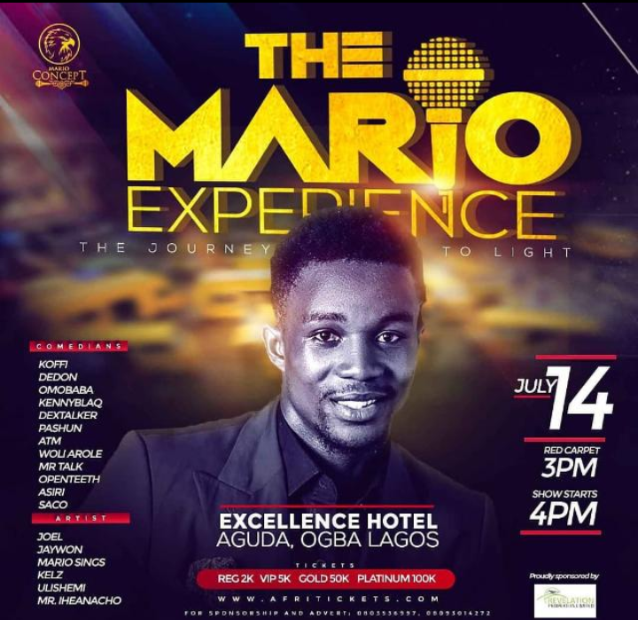 MC Mario announces date change for The Mario Experience