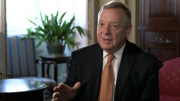 •Illinois Senator Dick Durbin