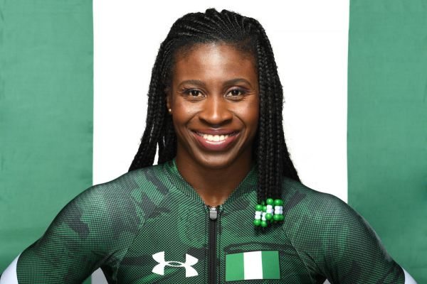 •Nigeria's first female skeleton athlete, Simidele Adeagbo