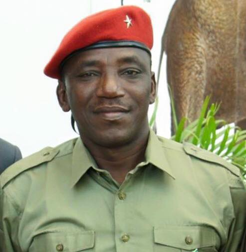 •Minister of Youths and Sports Development, Solomon Dalung