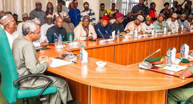 Gbajabiamila blasts service chiefs for shunning security meeting, to report to Buhari