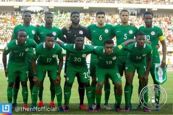 •The Super Eagles