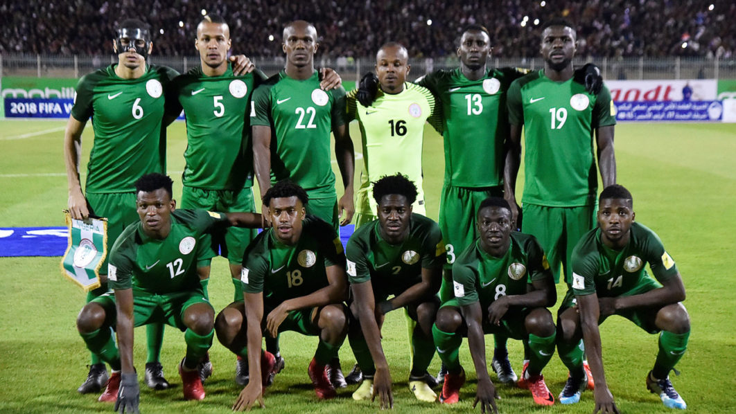 •Super Eagles players