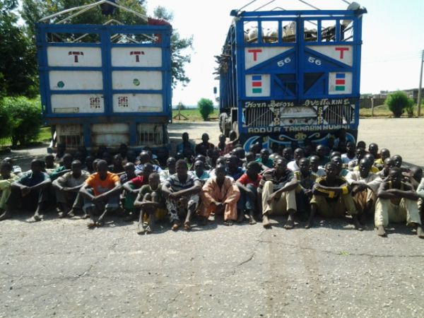 A cross section of Boko Haram suspects arrested in the past.