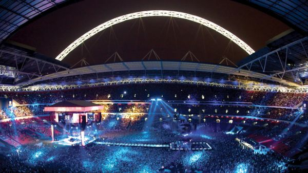•The iconic Wembley Stadium