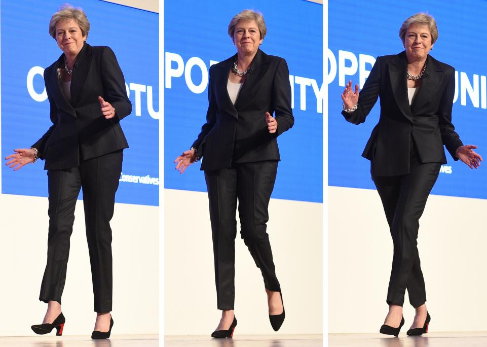 'Dancing' Theresa May sobs out of the Brexit conundrum and out of Downing Street