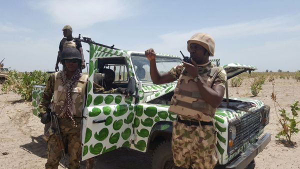 •Nigerian troops on the offensive against Boko Haram terrorists