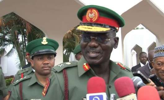 • Chief of Army Staff, Buratai