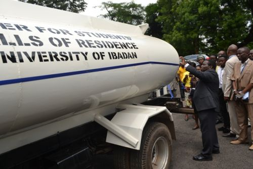 University of Ibadan tackles water scarcity with tankers for halls of residence