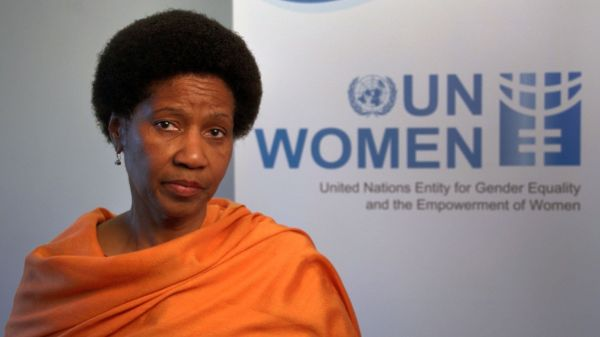 •UN Women Executive Director, Phumzile Mlambo-Ngcuka