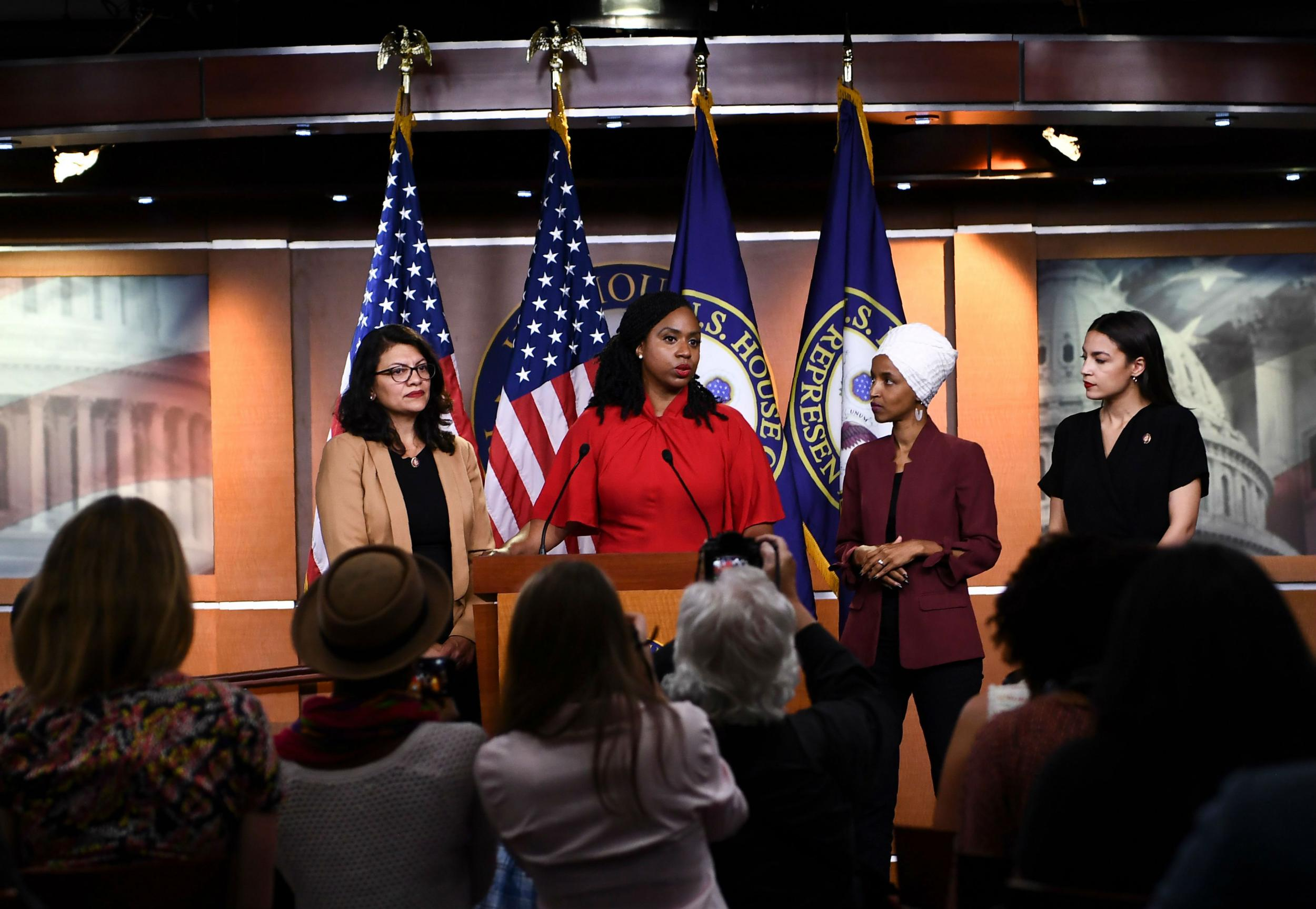 We won't be intimidated — US congresswomen targeted by Trump