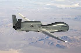 •A US-made Global Hawk surveillance drone