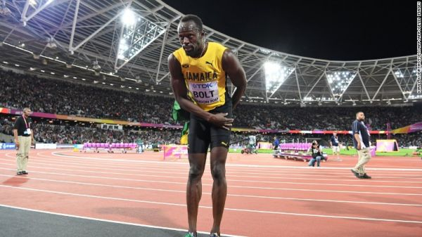 Usain Bolt upset in last solo race, beaten to 3rd place in IAAF World Championships 100m final