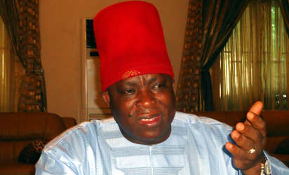 •Former National Chairman, APGA, Victor Umeh
