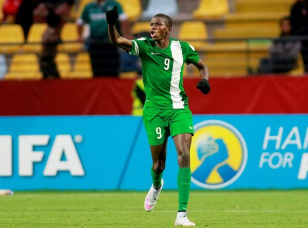 •Red-hot Osimhen in action for Nigeria