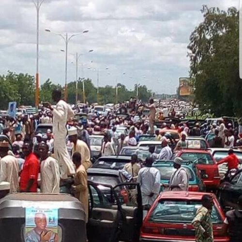 •Sokoto today: all for Wammako and APC