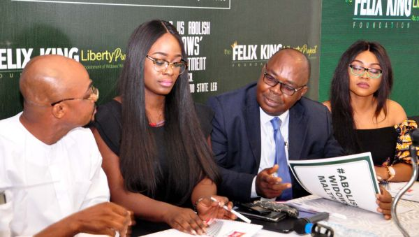 Desmond Elliot, Mercy Aigbe volunteer to champion campaign against maltreatment of widows
