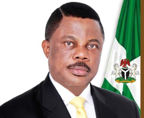 •Embattled Governor Obiano