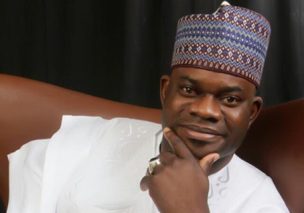 •Governor Yahaya Bello of Kogi State