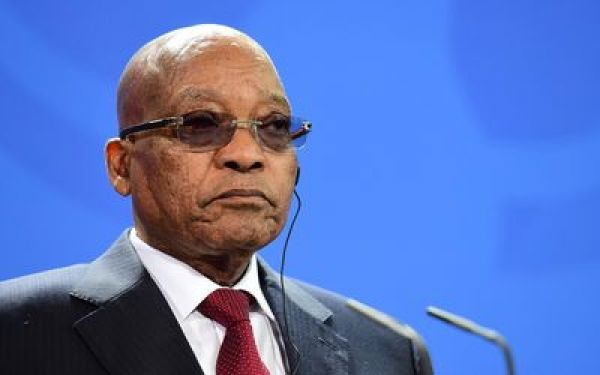 •South African President Jacob Zuma.