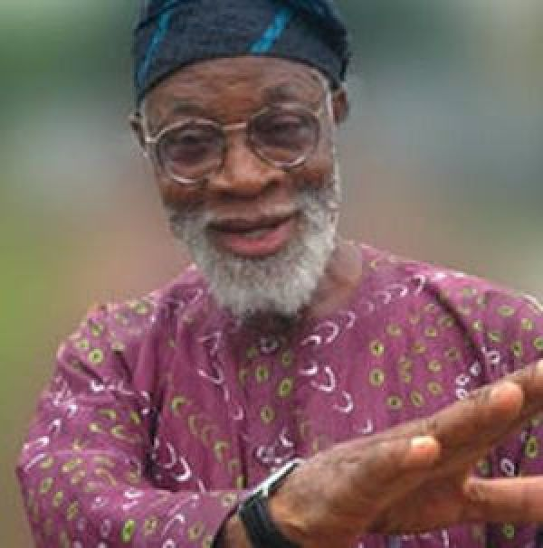 •Late playwright, author and culture activist, Prof. Akinwunmi Isola