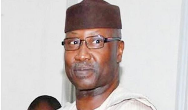 •Newly appointed SGF, Boss Mustapha