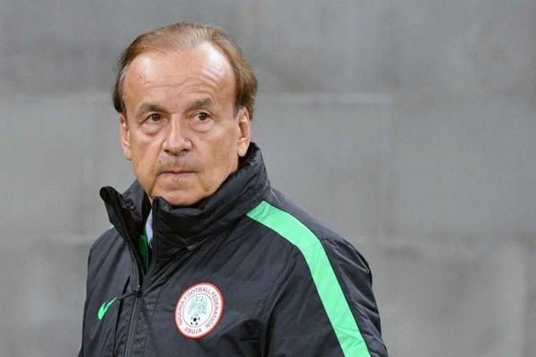 •Super Eagles coach Gernot Rohr