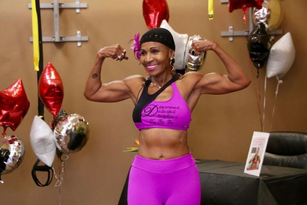 •World's oldest female bodybuilder Ernestine Shepherd