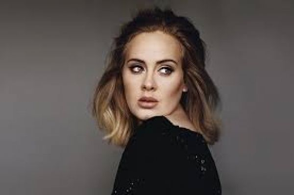 •Music superstar Adele.