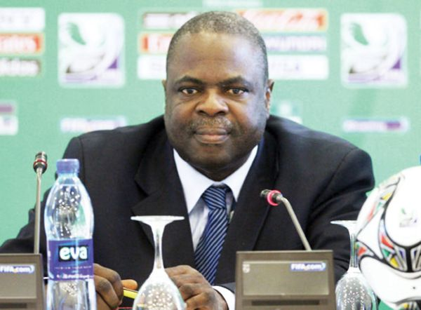 •Football administration giant Amos Adamu.