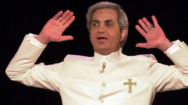 •Famous television evangelist Benny Hinn.