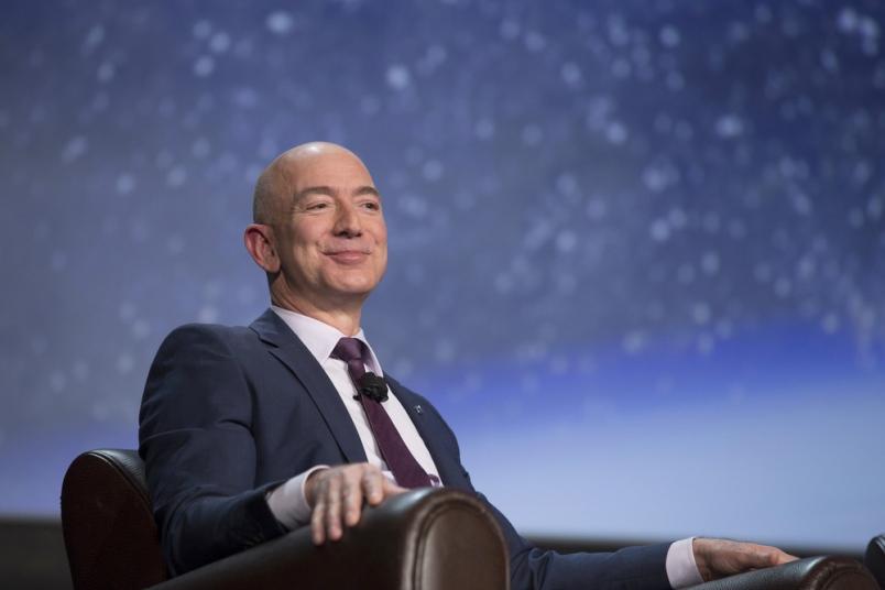 Jeff Bezos hits $150 billion, now the richest man in modern history