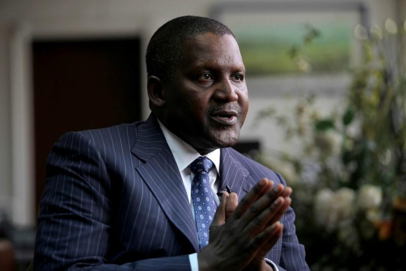 Nigeria's $15 billion oil refinery is on track, Dangote says