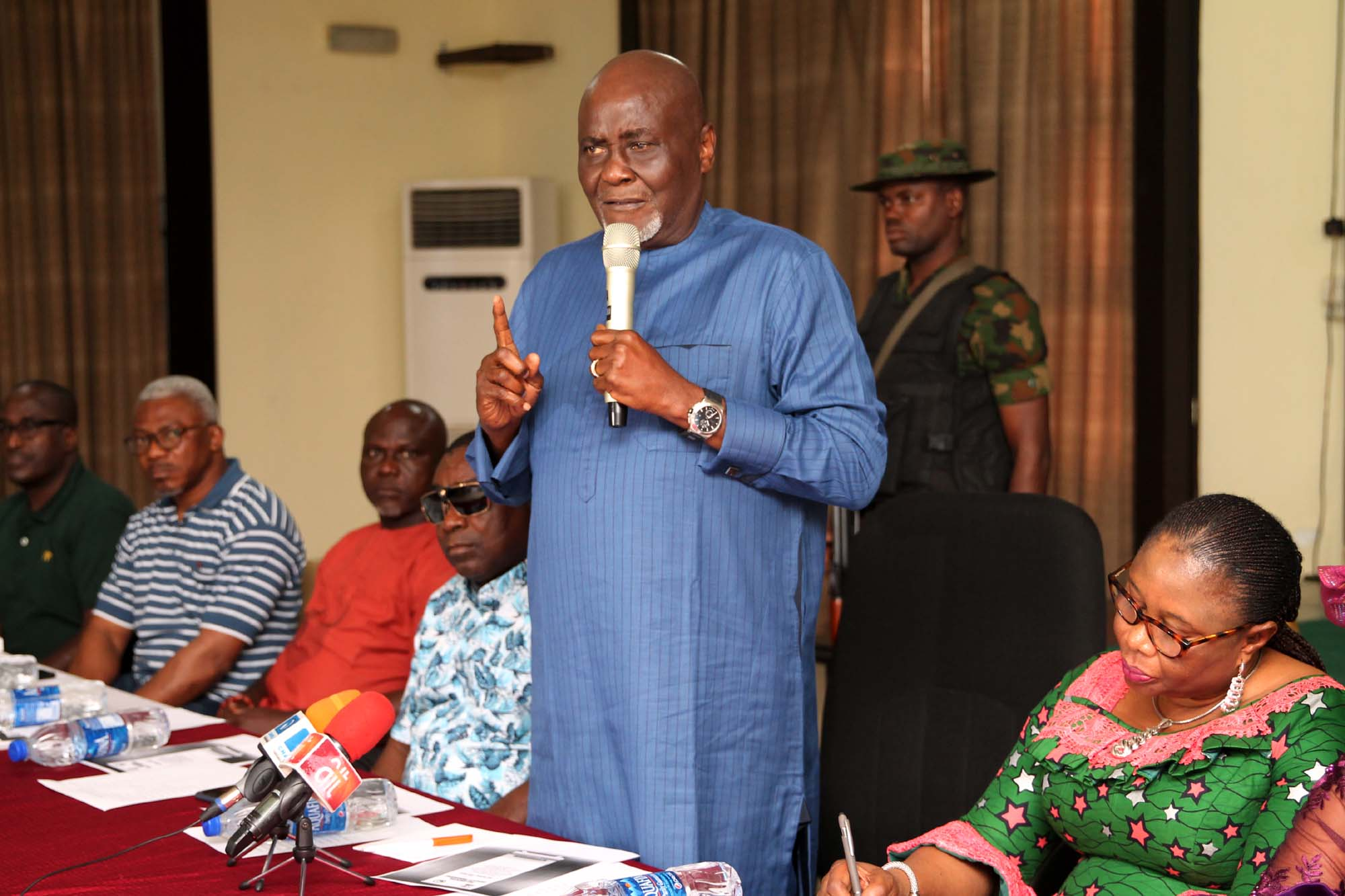• Charles Dokubo, Coordinator Presidential Amnesty programme