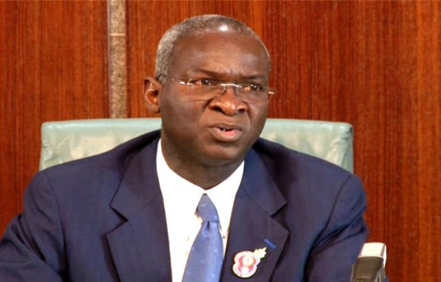 • Minister of Works, Power and Housing, Fashola