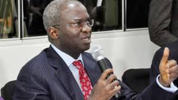 •Power, Works and Housing Minister Babatunde Fashola.
