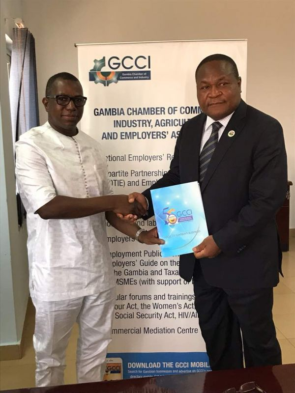 ACCI President in Gambia to expand economic ties News ...