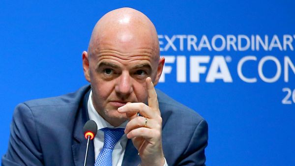Infantino applauds use of video replays