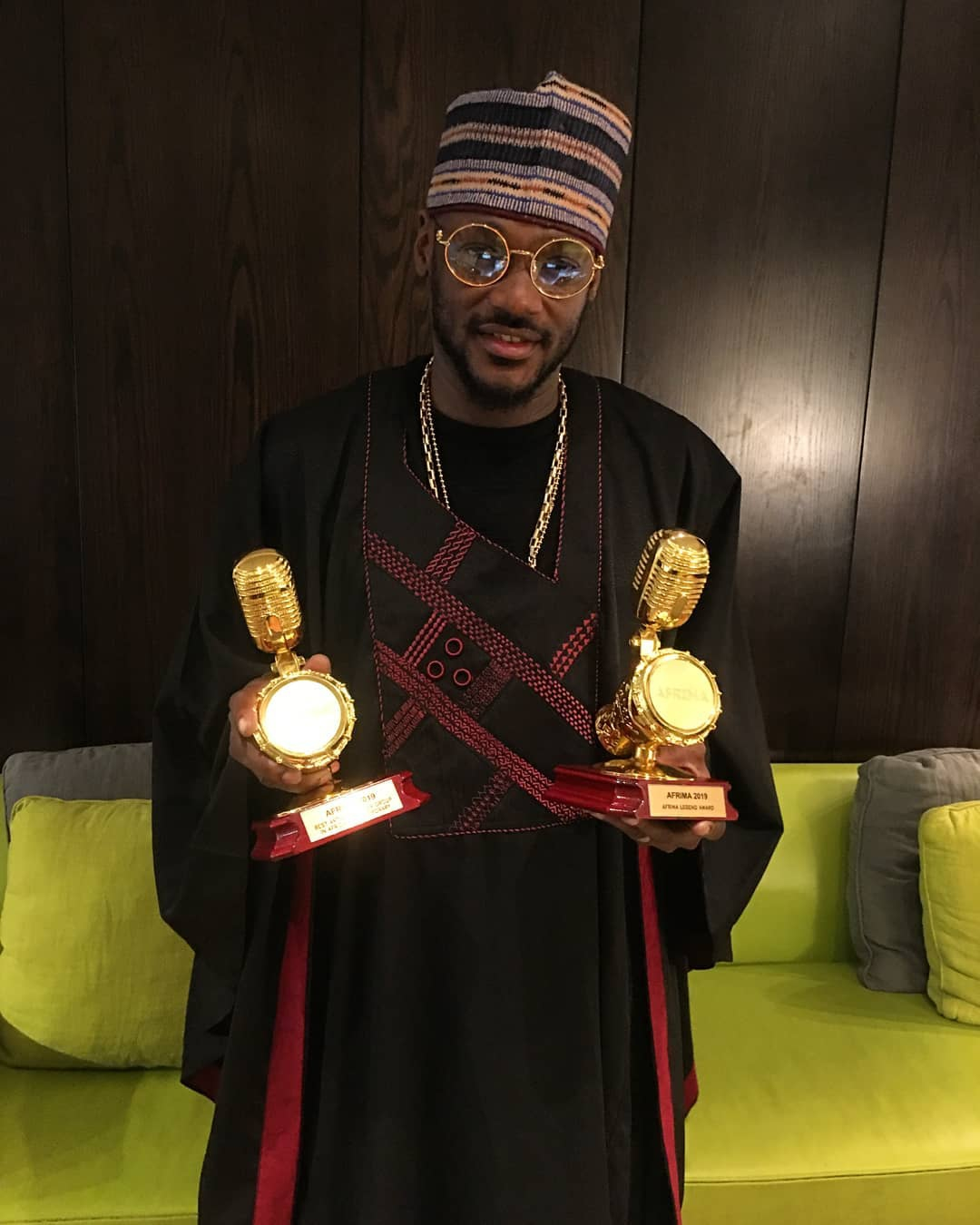 Awilo, 2Baba receive legend awards at 6th AFRIMA •Full list of winners