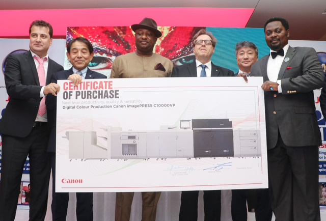 FG, KAS Prints, Canon partner to empower Nigerian youths