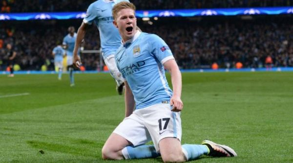 •Match winner De Bruyne